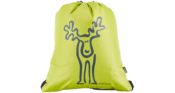 Elkline Büdel Gym Bag Unisex limegreen - navy
